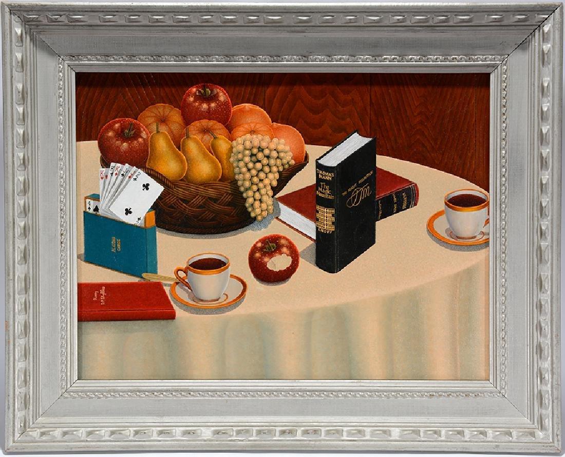 Drossos P. Skyllas. Still Life On Table - 6