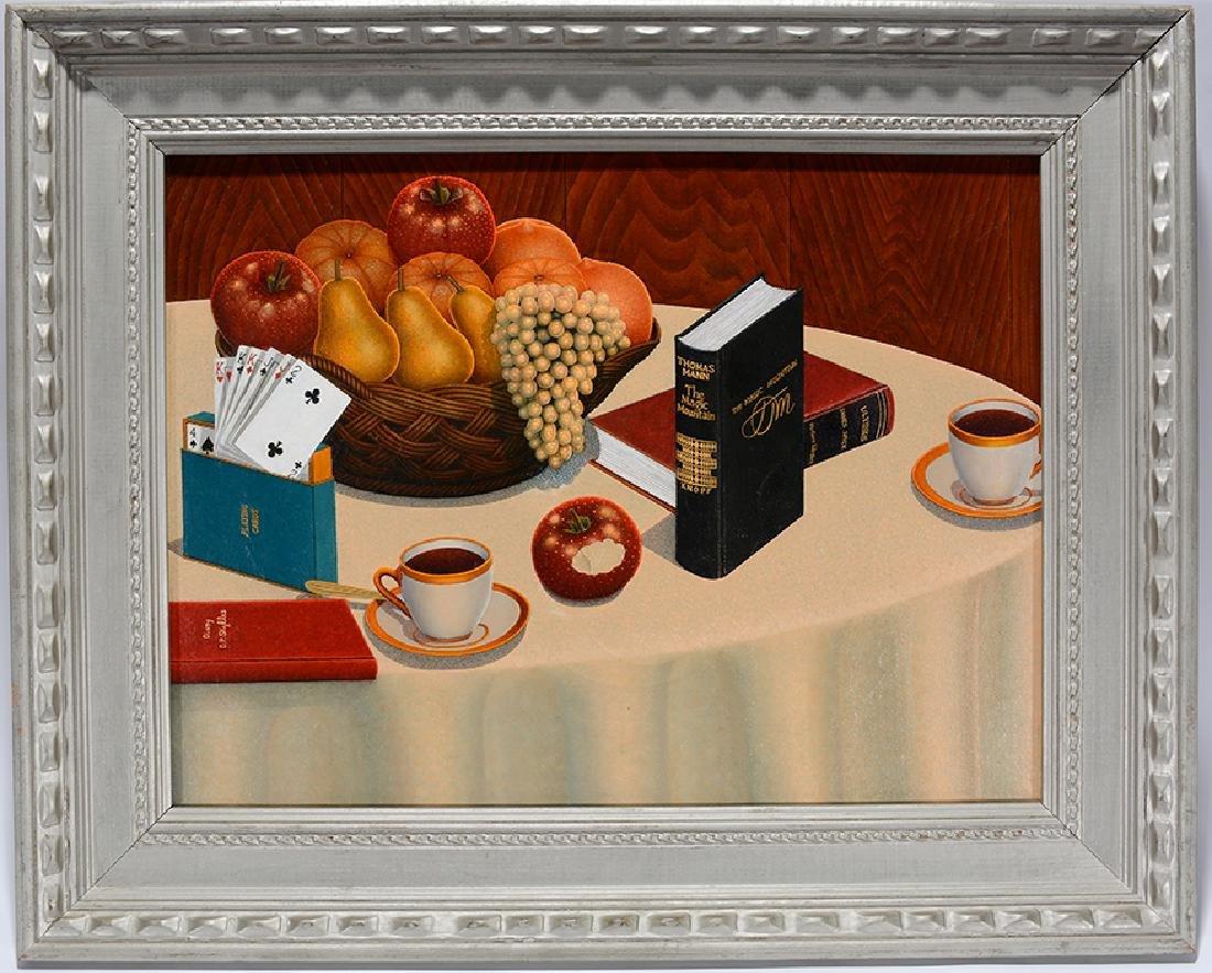 Drossos P. Skyllas. Still Life On Table - 7