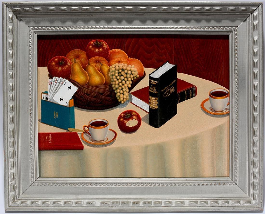 Drossos P. Skyllas. Still Life On Table - 8