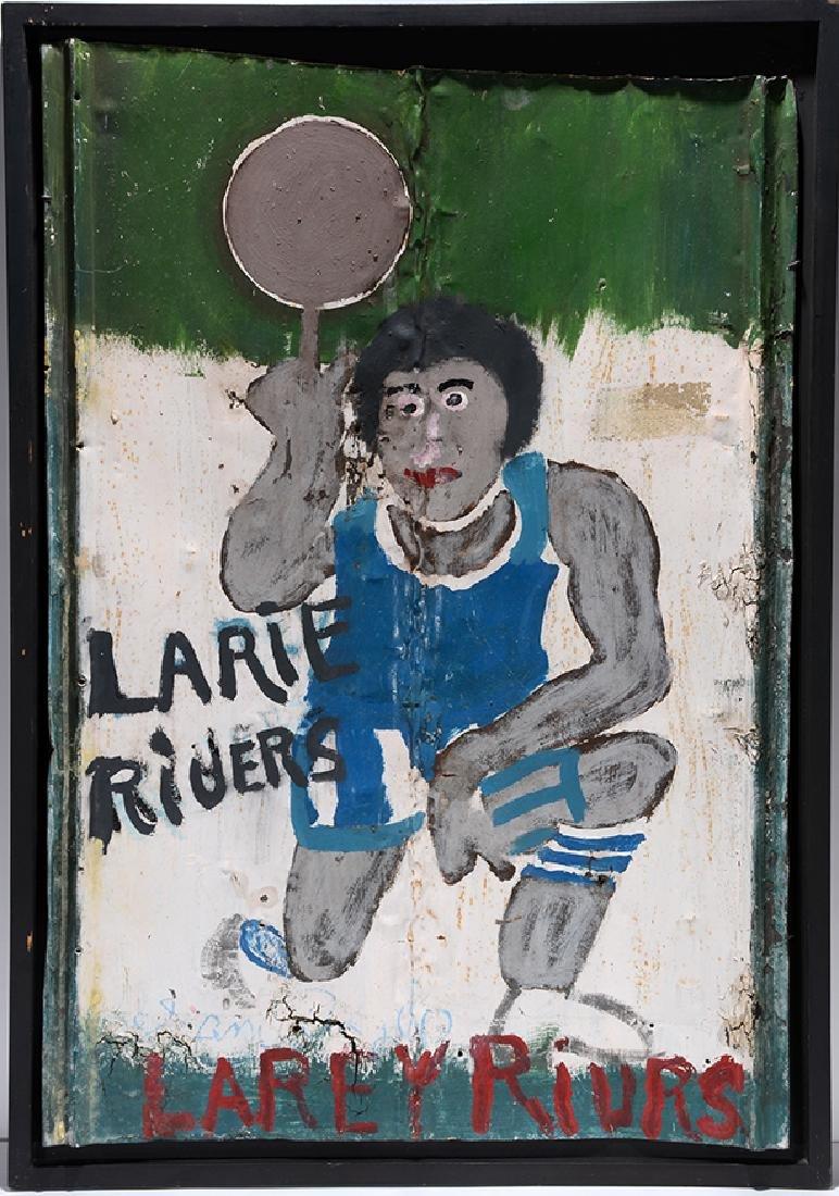 Sam Doyle. Larie Rivers (sic.) or Larey Rivrs (sic.) - 9