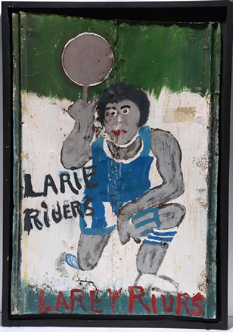 Sam Doyle. Larie Rivers (sic.) or Larey Rivrs (sic.)