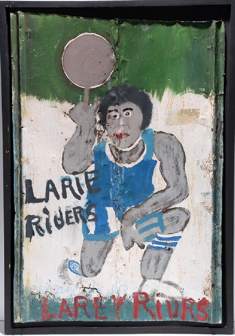 Sam Doyle. Larie Rivers (sic.) or Larey Rivrs (sic.) - 3