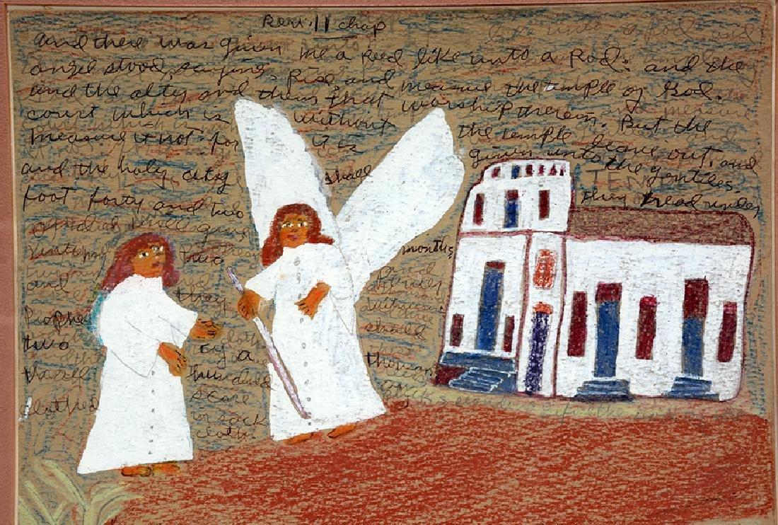 Sister Gertrude Morgan. Rev. II And The Angel Stood. - 4