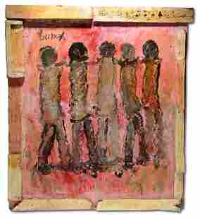 Purvis Young. Five Figures.