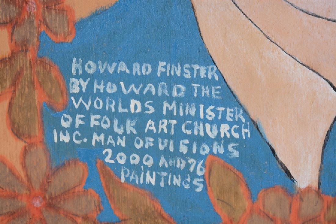Howard Finster By Howard Finster. - 5