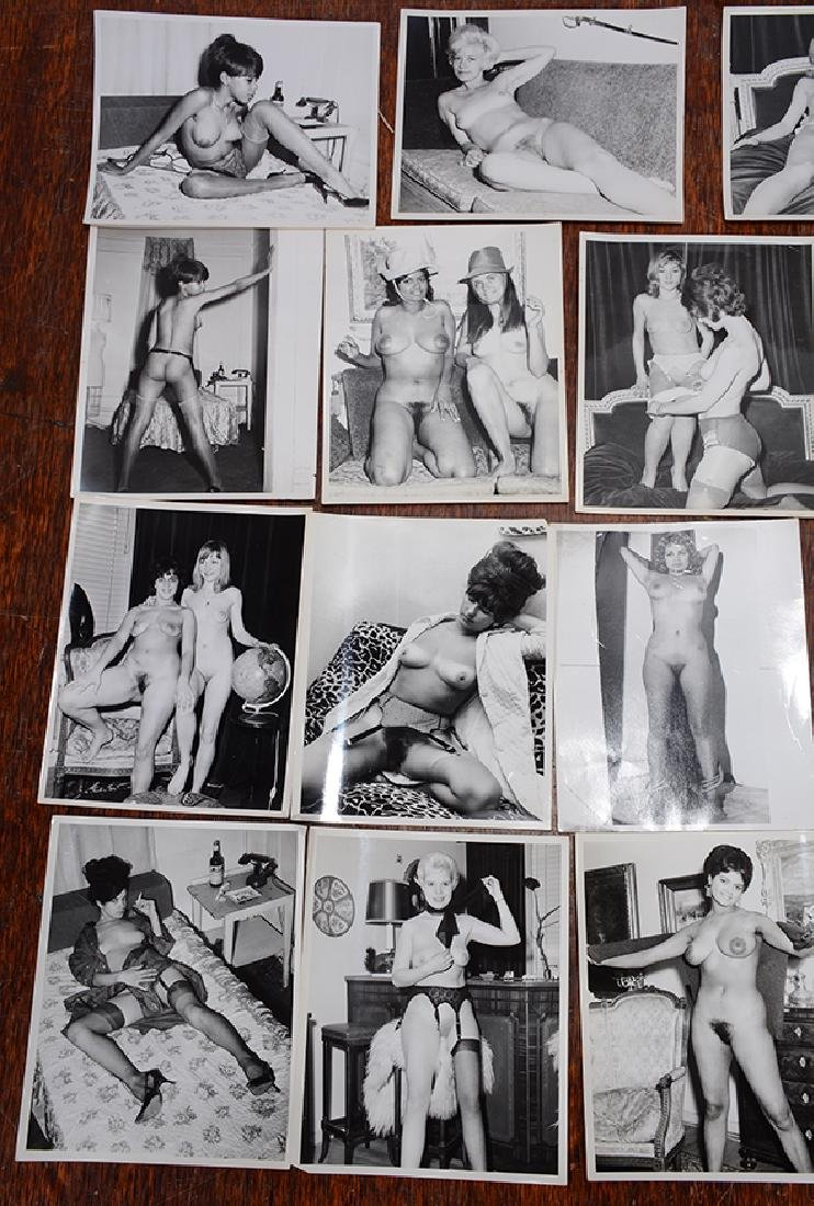 Erotic Photography. 25 Black and White Photos. - 2