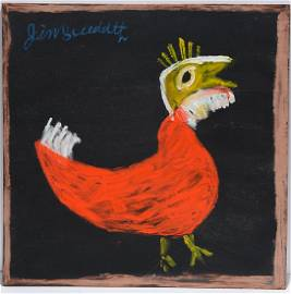 Jimmy Lee Sudduth. Red Rooster.