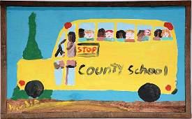 Woodie Long. Country School Bus.