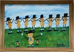 Alyne Harris. Art For Peanut Festival.