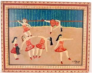 242: Antonio Esteves (1910-1983) Ballet Dancers.