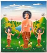 318: Erich Staub Nudes in a Fantasy Landscape.