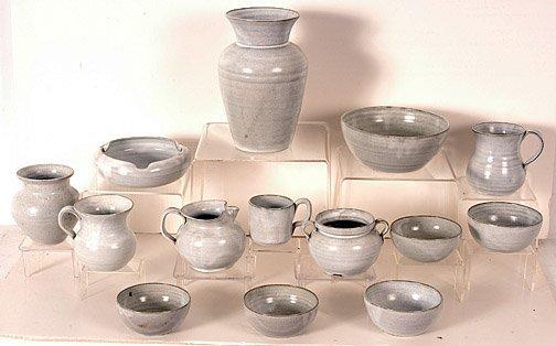 10: J.B. Cole White Pottery.