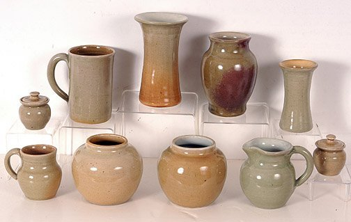 15: Pisgah Forest Earth Tones Variety of Ten Pieces.