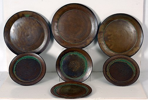 19: Group of Seven Ceramic Plates.