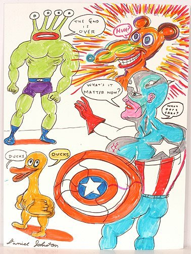 480: Daniel Johnston The End is Over.