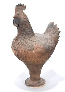 Clint Alderman. Large Rooster.