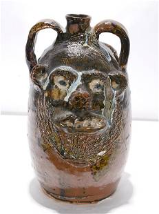 Marie Rogers. Double Face Jug.