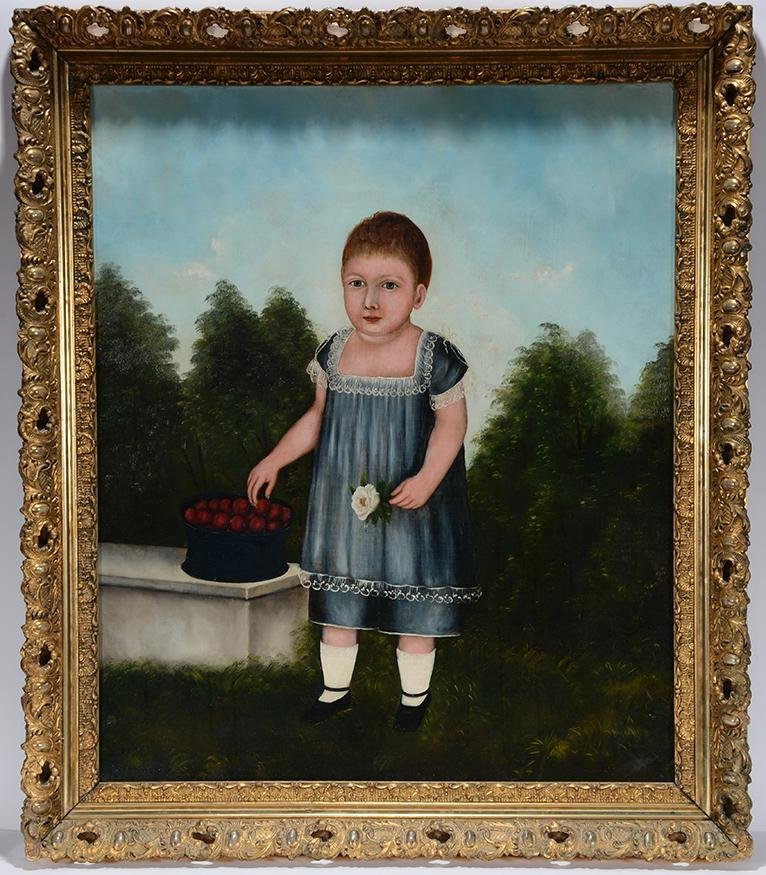 Della Sherman. Child With Flower.