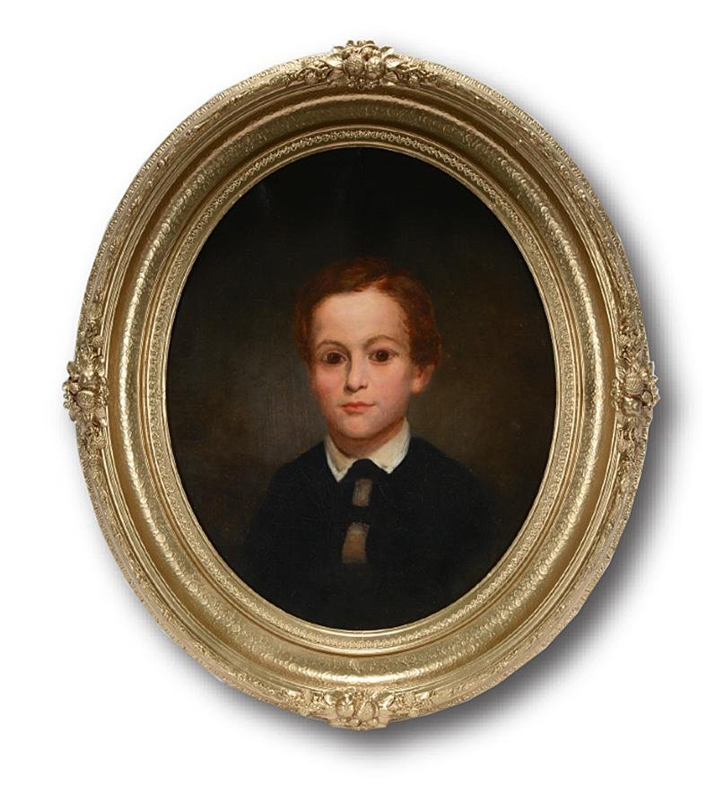 Robert M. Pratt. Portrait of Daniel Swift Burr 1853.