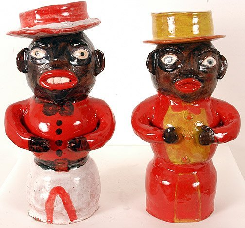 4: Larry Wilson. Pair of Mamie Jugs #3 and #4