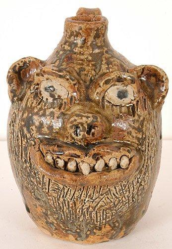 17: Marie Rogers. Face Jug with Beard