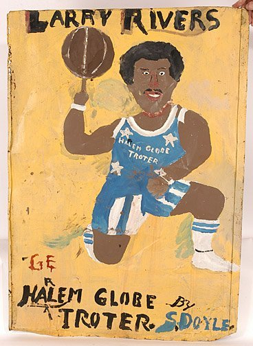 156: Sam Doyle. Larry Rivers Harlem Globe Troter