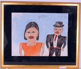 S.L. Jones. Man And Woman