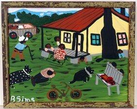 Bernice Sims. Grandma's House