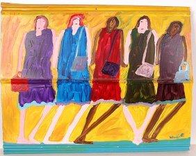 Woodie Long. Five Women