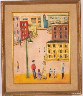 Ben Eisner. Street From A Senator's Estate