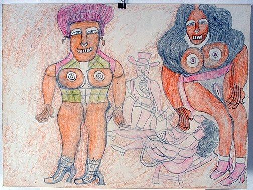 505: Henry Speller. Two Women