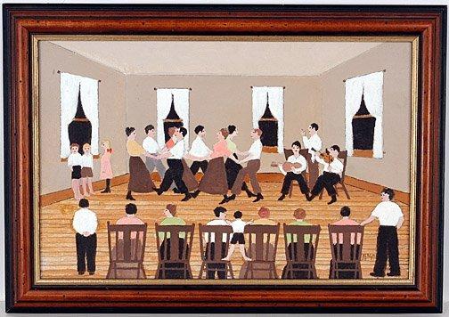 506: Harold Everett Bayer. Communal Dance