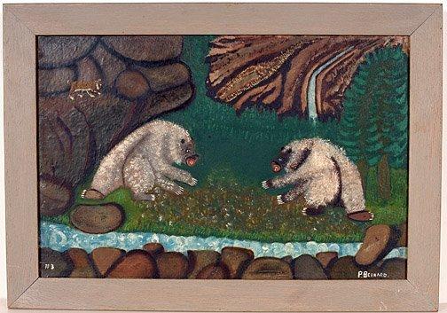 508: Pearl Bernard. Two Bears