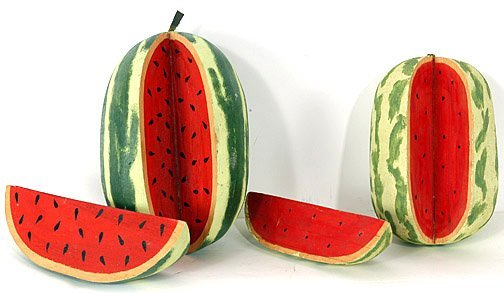 513: Felipe Archuleta. Pair of Watermelons