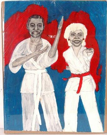 524: John Robert Ellis. Couple In Karate Gear
