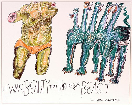 525: Daniel Johnston. It was Beauty that Thrilled the B