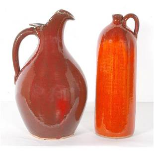 A.V. Smith. Pitcher and Wine Jug.