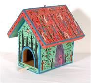Howard Finster. Bird House.