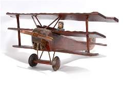 Anonymous. WWI Bi-Plane.
