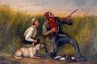 A. Scott. Hunting Scene.