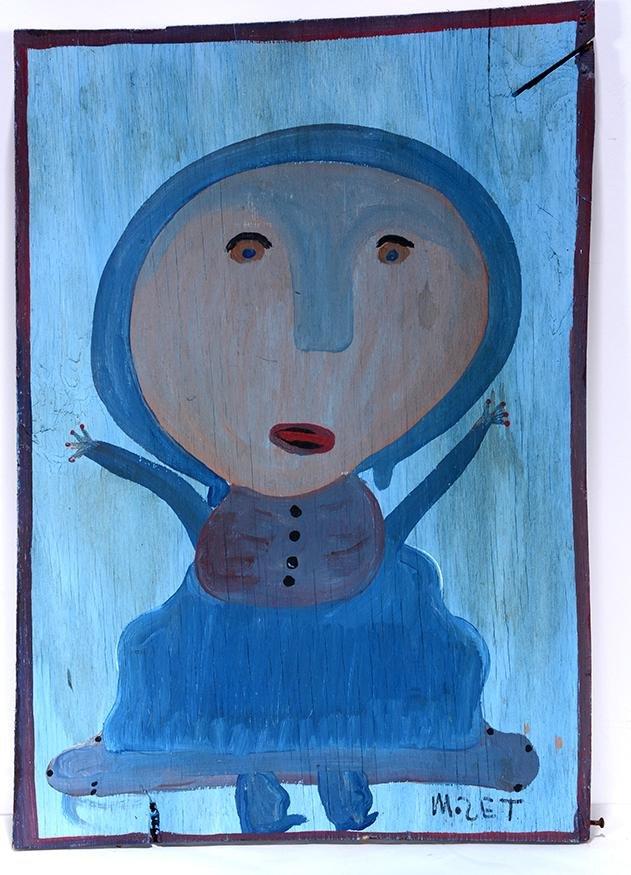 Mose Tolliver. Little Blue Girl.