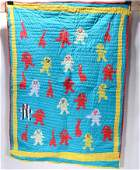 Sarah Mary Taylor Baby Figures  Duck Quilt