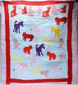 Sarah Mary Taylor Horses  Animal Quilt