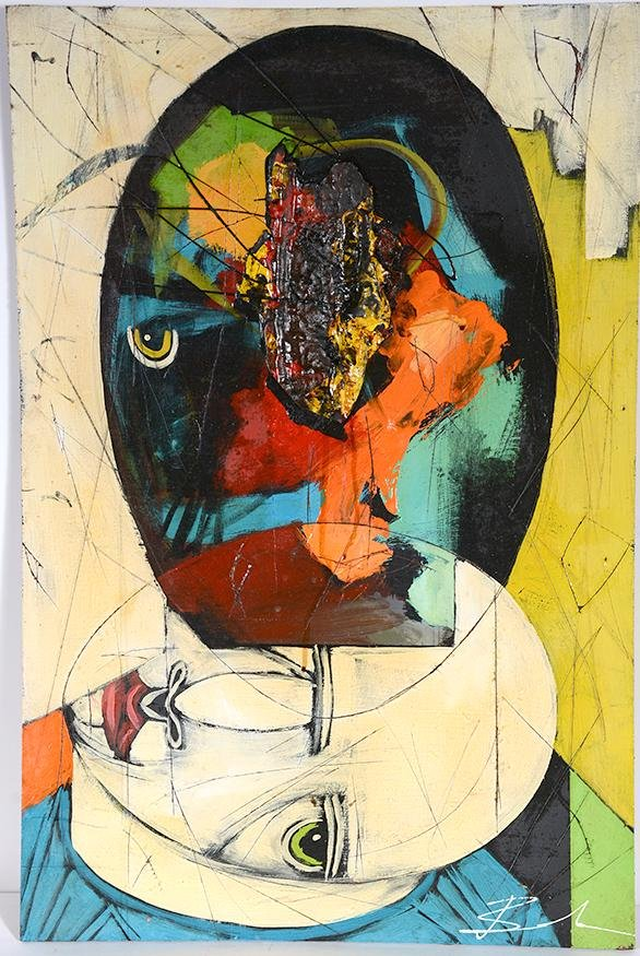 Michael Banks. Single Eye Profile.