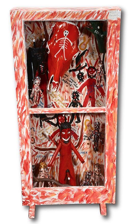 Ronald Cooper. Hell Cabinet.