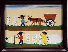 Frank Hunter. Cotton Harvest.