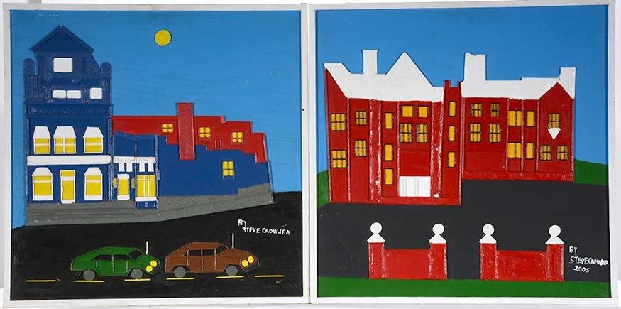Steve Crowder. Buildings.