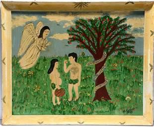 Antonio Esteves. Adam and Eve.