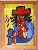 Eddy Mumma Blue Boy  Portrait