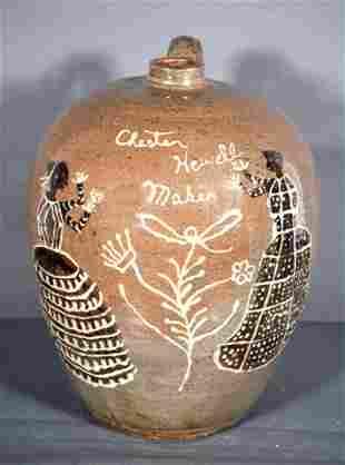 Chester Hewell. Antebellum Women 3 Gal Jar.